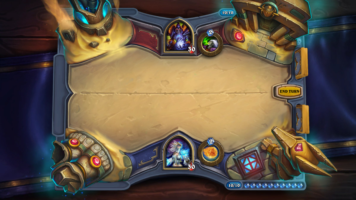 New Saviors of Uldum Game Board!